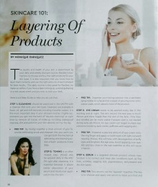 Layering of Products