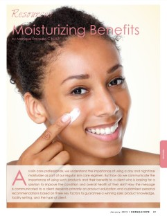 Moisturizing Benefits - Featured Article PART#1